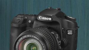 Fotobox mit Spiegelreflexkamera - die Kamera im SmileCube