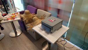 SmileCube Fotobox beim Kunden