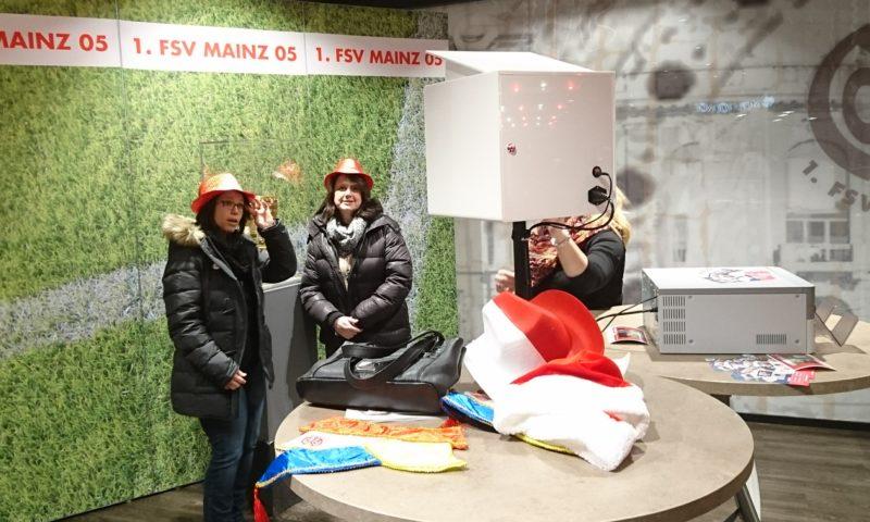 SmileCube Fotobox beim DFB-Pokal Achtelfinale in Mainz